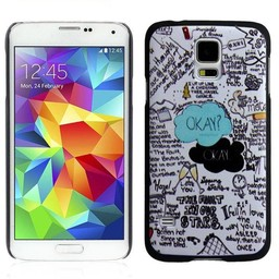 Samsung S5 hard case hoesje The Fault in our Stars 1