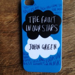 Iphone 4(S) hoesje hard Case The Fault in our Stars 3