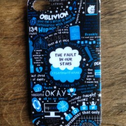 Iphone 4(S) hoesje hard Case The Fault in our Stars 4