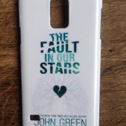 Samsung Galaxy S5 hoesje hard Case The Fault in our Stars 1