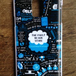 Samsung Galaxy S5 hoesje hard Case The Fault in our Stars 4