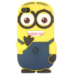Iphone 6 (4,7 inch) hoesje Minion 2 Eyes Blauw