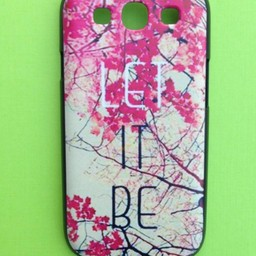 Samsung Galaxy S3 Quote  Let it Be