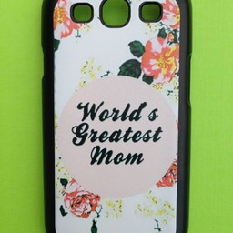 Samsung Galaxy S3 Quote hoesje hard Case Greatest Mom