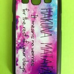 Samsung Galaxy S3 Quote hoesje hard Case Hakuna Matata