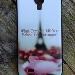 Samsung Galaxy S4 Quote Stronger