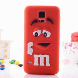 Samsung Galaxy Note 3 Siliconen hoesje M&M Rood