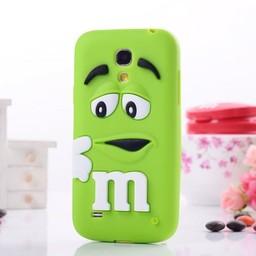Samsung S4 Mini siliconen hoesje M&M Groen
