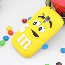 Samsung S3 Mini M&M Geel