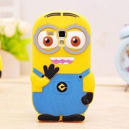 Samsung Galaxy S Duos(2)/Trend Plus Siliconen Minion Hoesje