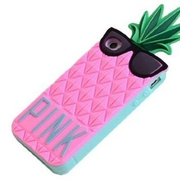 Iphone 6 (4,7 inch.) hoesje Ananas Rose PINK