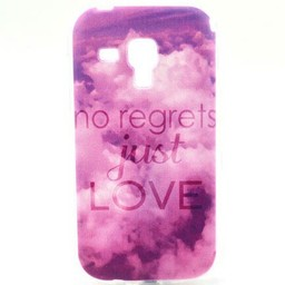 Samsung Galaxy S Duos(2)/Trend Plus TPU Hoesje Just Love