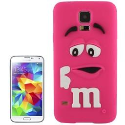 Samsung Galaxy S5 Siliconen hoesje M&M Rose