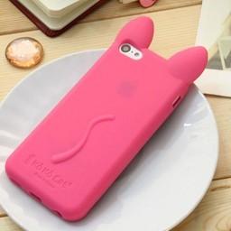 Iphone 5 C Siliconen hoesje Koko Cat Rose