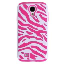 Samsung Galaxy S3 siliconen/hardcase hoesje Zebra Rose