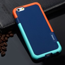 Iphone 6 (4,7 inch.) Hard Siliconen hoesjes Walnutt 5