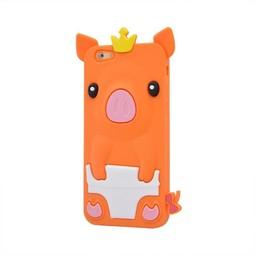 Iphone 6  Varkentje Oranje