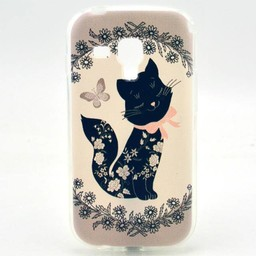 Samsung Galaxy S Duos(2)/Trend Plus TPU Hoesje Cat