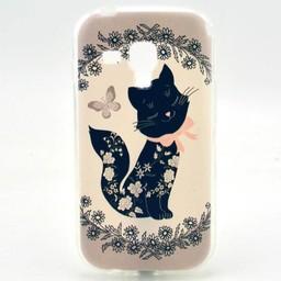 Samsung Galaxy S Duos(2)/Trend Plus TPU Hoesje Cat