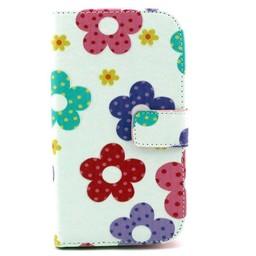 Samsung Galaxy Grand Neo/Grand Neo Plus Lederen PU Book Wallet Love