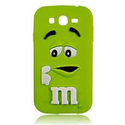 Samsung Galaxy Grand Prime siliconen hoesje M&M Groen