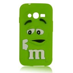Samsung Galaxy Ace 4 LITE/ Trend 2 LITE siliconen hoesje M&M Groen
