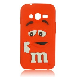 Samsung Galaxy Ace 4 LITE/ Trend 2 LITE siliconen hoesje M&M Rood