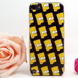Ipod Touch 5 en 6  (G) Hard case hoesje The Simpsons 2