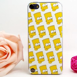 Ipod Touch 5 en 6 (G) Hard case hoesje The Simpsons 3