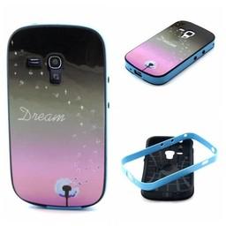 Samsung Galaxy S Duos(2)/Trend Plus TPU Hoesje met gekleurde bumper Dream