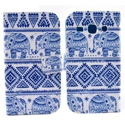 Samsung Galaxy Core Plus Wallet hoesjes Olifant
