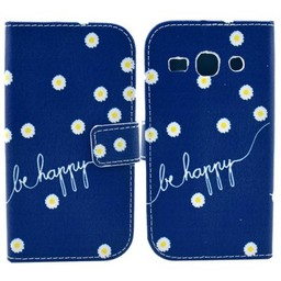Samsung Galaxy Core Plus Wallet hoesjes Be Happy