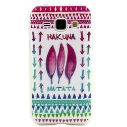 Samsung Galaxy J1 Hard TPU hoesje Hakuna Matata