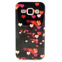 Samsung Galaxy J1-2015  Hard TPU hoesje Hartjes