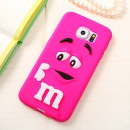 Samsung Galaxy S6 siliconen hoesje M&M Rose