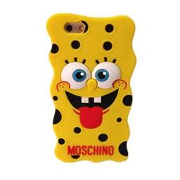 Iphone 4(s) Siliconen hoesjes Spongebob