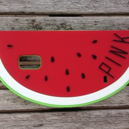 Samsung Galaxy S5 Watermeloen hoesje Rood