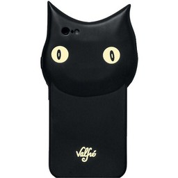 Iphone 5(s) en 5C Siliconen Black Cat Valfie hoesje