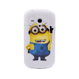 Samsung S3 Mini siliconen TPU  hoesje Minion 1