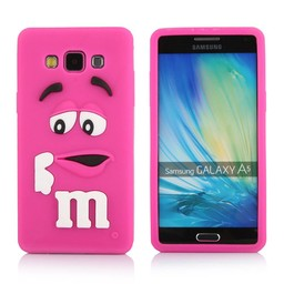 Samsung Galaxy A5 siliconen hoesje M&M Rose