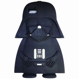 Iphone 5 (S) en 5C Siliconen hoesje Starwars Darth Vader