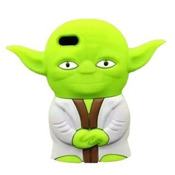 Iphone 5 (S) en 5C Starwars Master Yoda