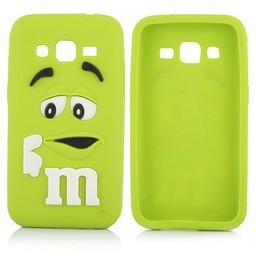 Samsung Galaxy Core Prime siliconen M&M hoesje Groen