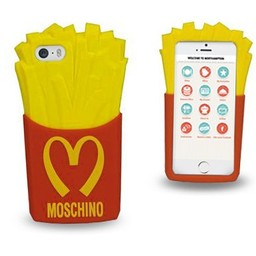 Iphone 5(S) en 5(C) siliconen hoesje Franse Frietjes Mac Donalds