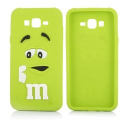 Samsung Galaxy J1 M&M Groen