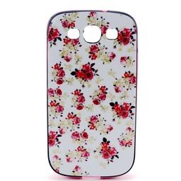 Samsung S3 met gekleurde bumper Flowers