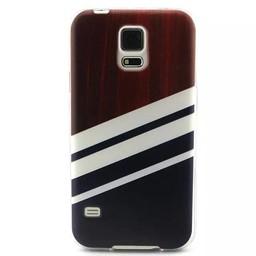 Samsung S5 mini siliconen hoesje Stripes