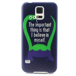 Samsung S5 mini siliconen hoesje I Believe