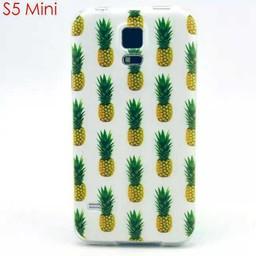 Samsung S5 mini siliconen hoesje Ananas