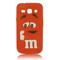 Samsung Galaxy Core Plus siliconen M&M hoesje Rood